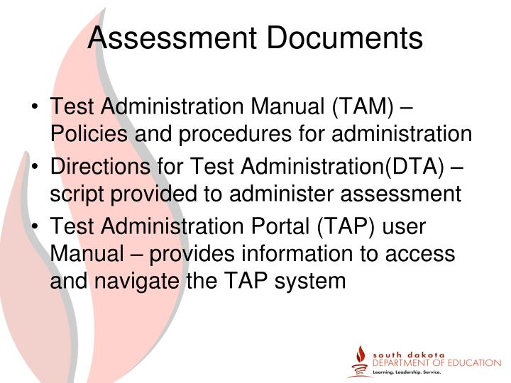 Assessment Documents