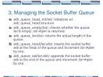 3 managing the socket buffer queue1