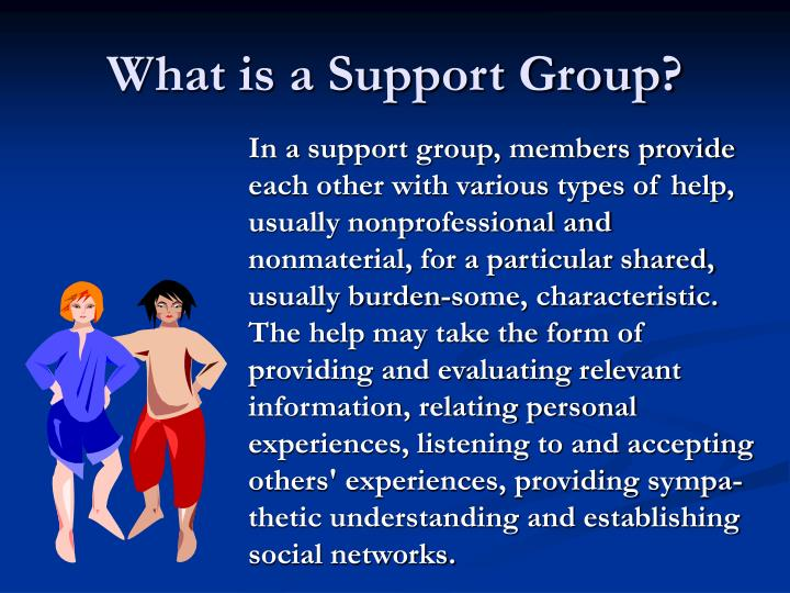 What is a Support Group?