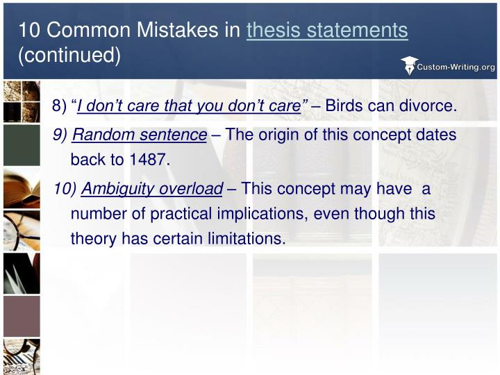 easy way to explain thesis statement Thesis statements--how to construct and compose (a review) - продолжительность: 5:02 chris heafner 149 781 просмотр writing in english - comma splices & 4 easy ways to fix them - продолжительность: 8:06 learn english with emma [engvid] 630 493 просмотра.