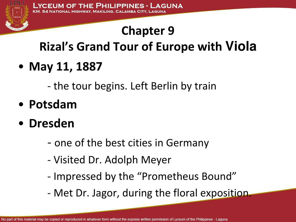 life of jose rizal summary pdf