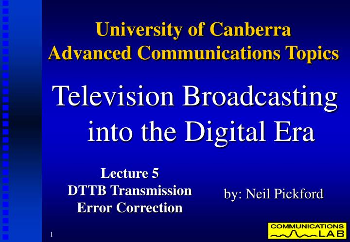 an analysis of the topic of the digital television By topic aerospace analysis of the implementation of hybrid functions in the current brazilian digital television system.