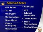 approved nodes