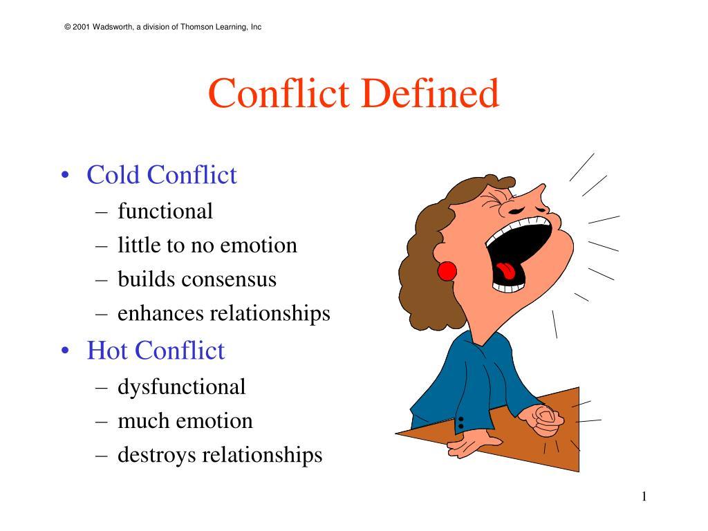 define dysfunctional conflict
