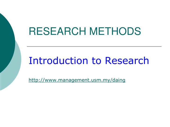 methods of research introduction Introduction to behavioral research methods, 6 th edition boston: pearson education, inc there is no publisher's on-line study  un1250h1 — introduction to research methods in health studies  multiple- choice, true/false, matching, and short—answer questions will be held in class on.