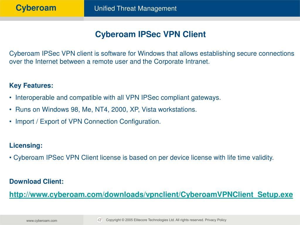PPT - Cyberoam Technical Training PowerPoint Presentation
