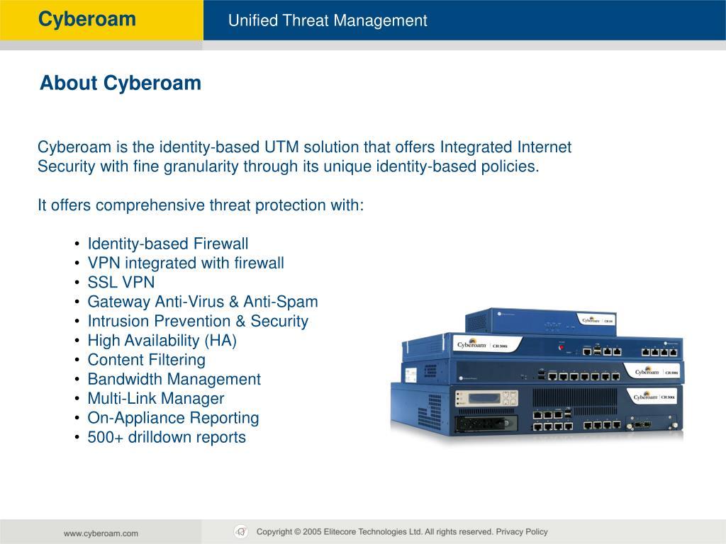 PPT - Cyberoam Technical Training PowerPoint Presentation - ID:5720352