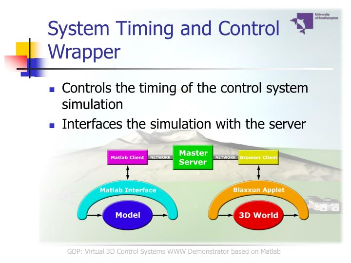 System Timing and Control Wrapper