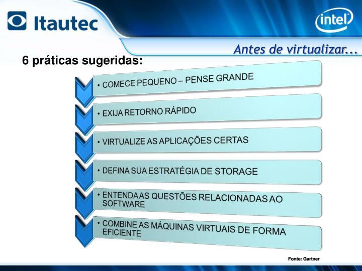 Antes de virtualizar...
