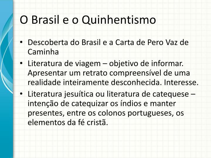 O Brasil e o