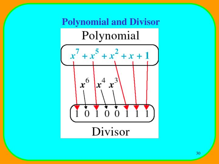Polynomial and Divisor