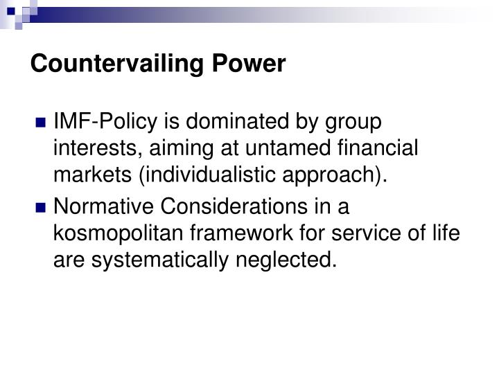 Countervailing Power