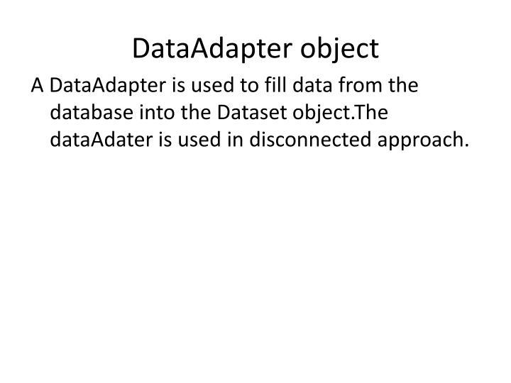 DataAdapter