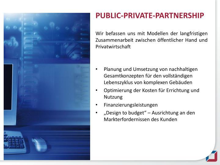 PUBLIC-PRIVATE-PARTNERSHIP