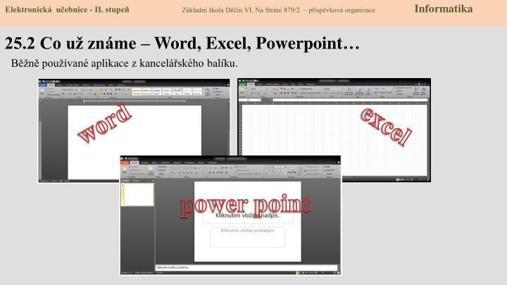 25 2 co u zn me word excel powerpoint
