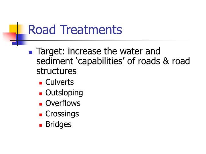Road Treatments