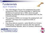 fundamentals key points