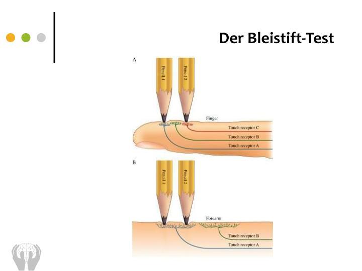 Der Bleistift-Test