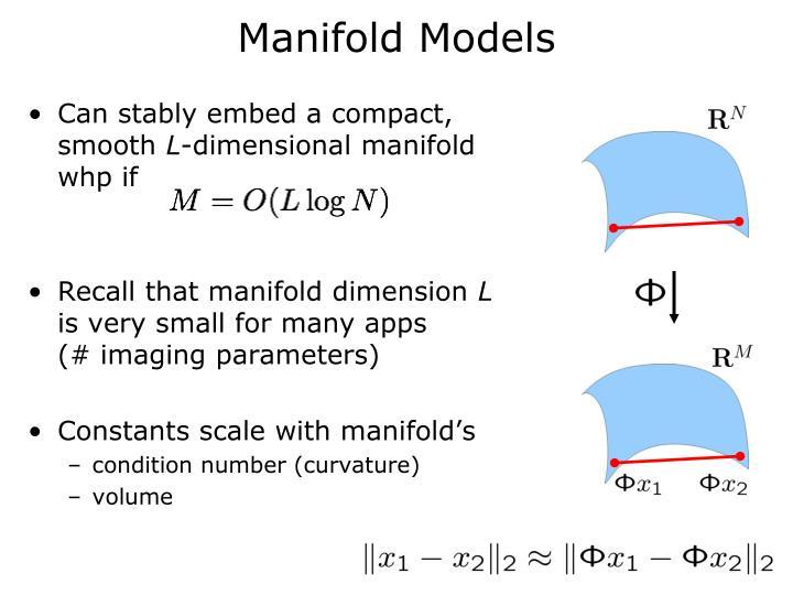 Manifold Models
