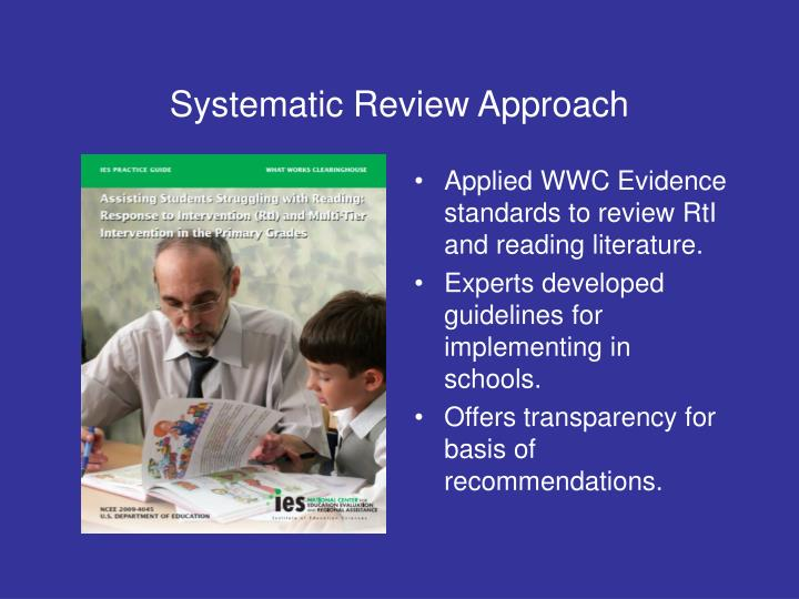 Systematic Review Approach