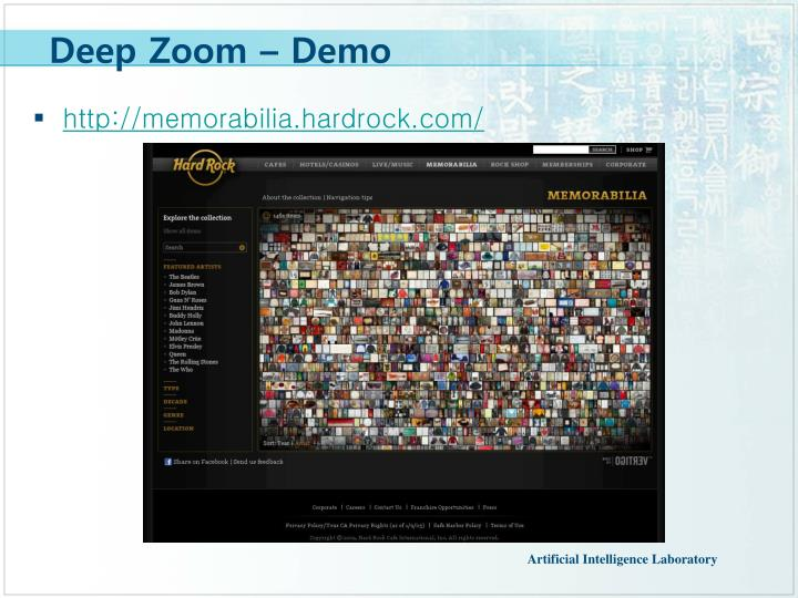 Deep Zoom – Demo