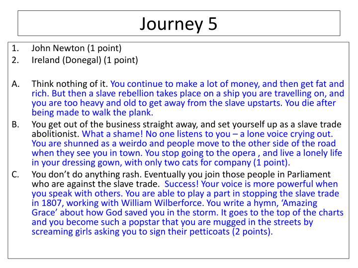 Journey 5