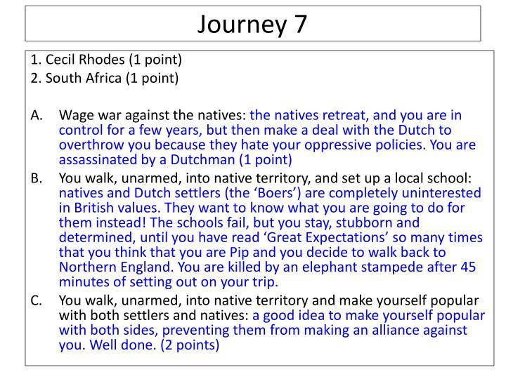 Journey 7