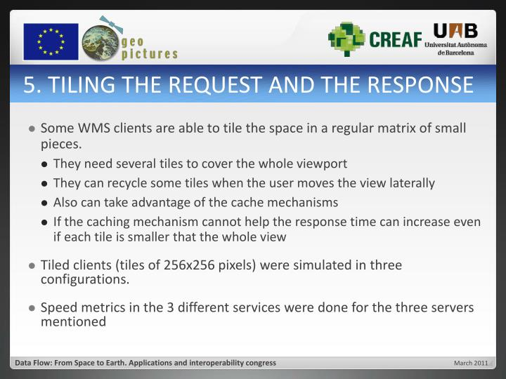 5. TILING THE REQUEST AND THE RESPONSE