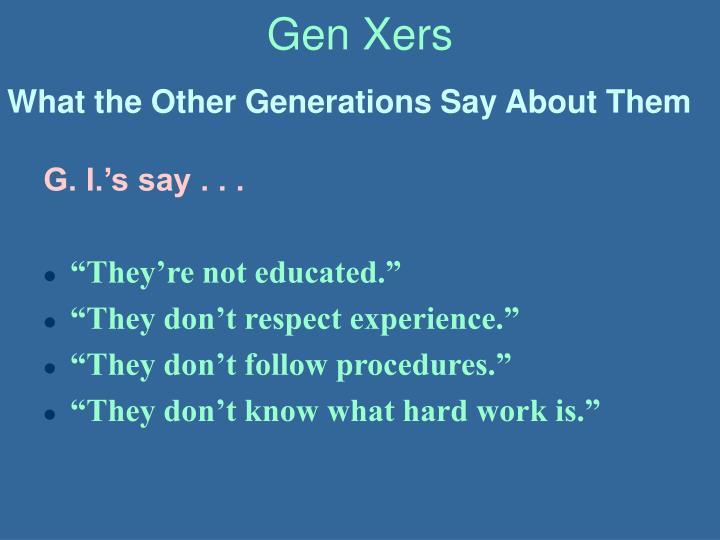 Gen Xers
