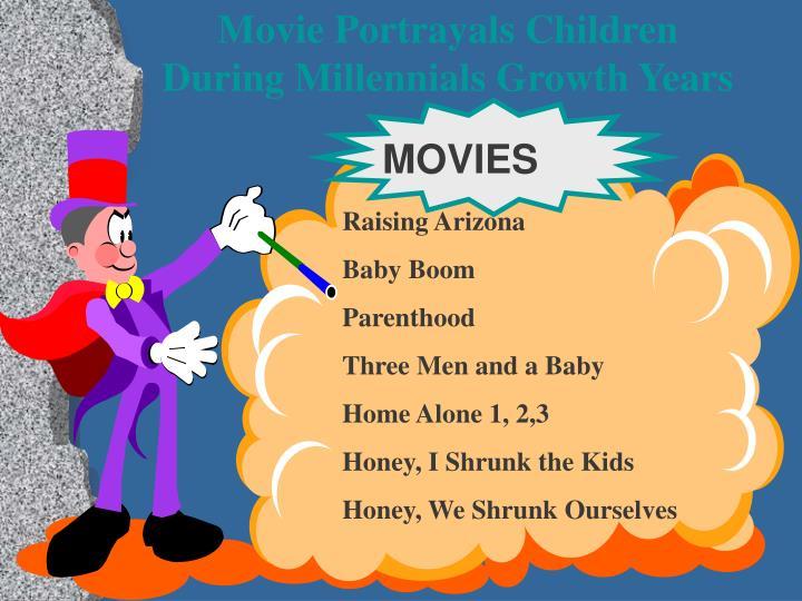 Movie Portrayals Children