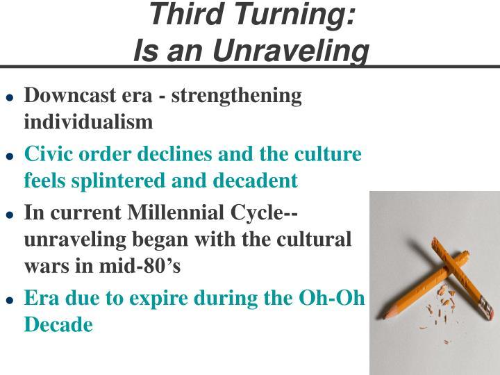 Third Turning: