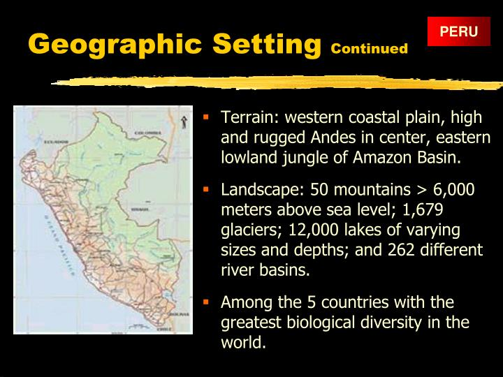Geographic Setting