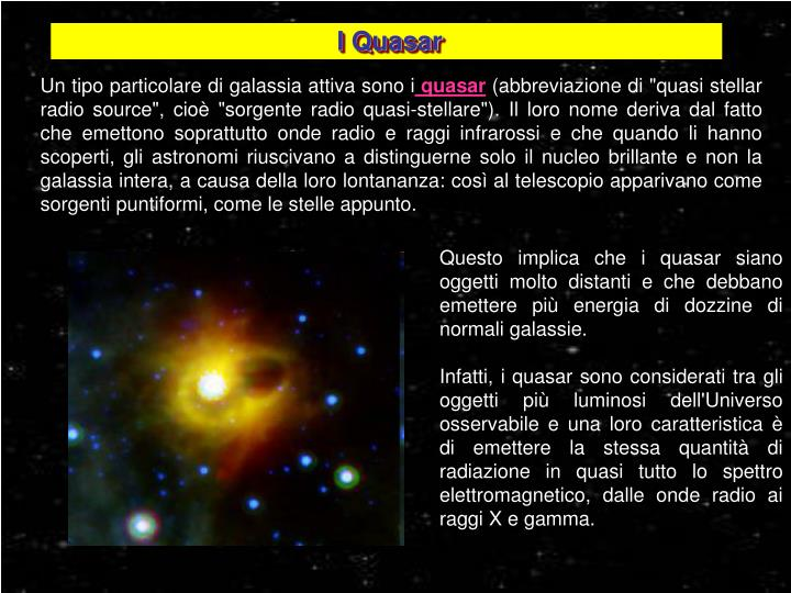 I Quasar
