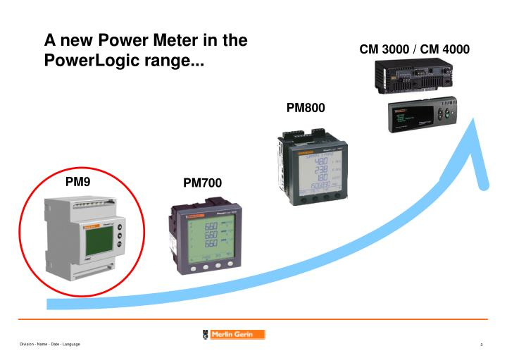 A new power meter in the powerlogic range
