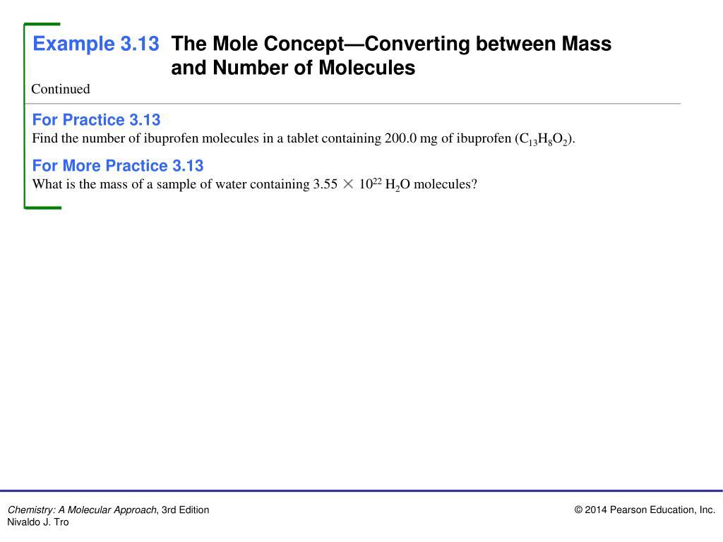 PPT - Example 3.1 Molecular And Empirical Formulas