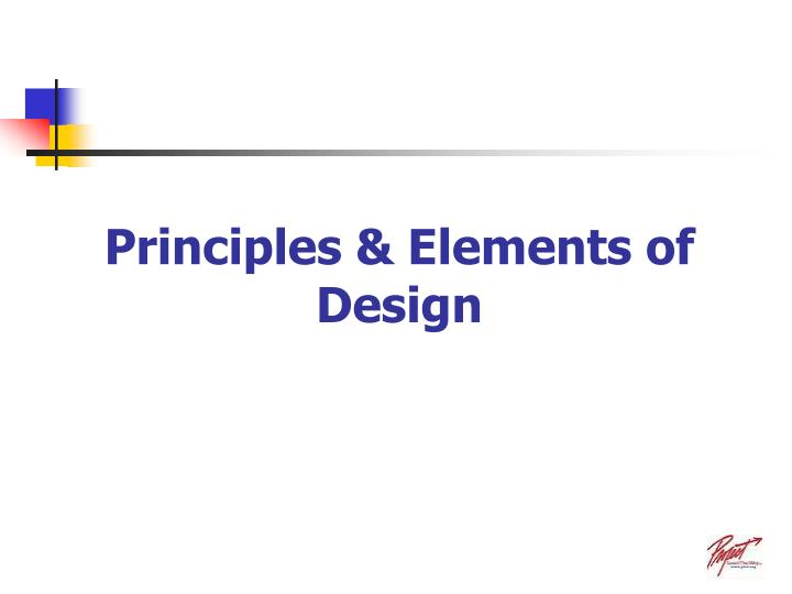 principles elements of design n.