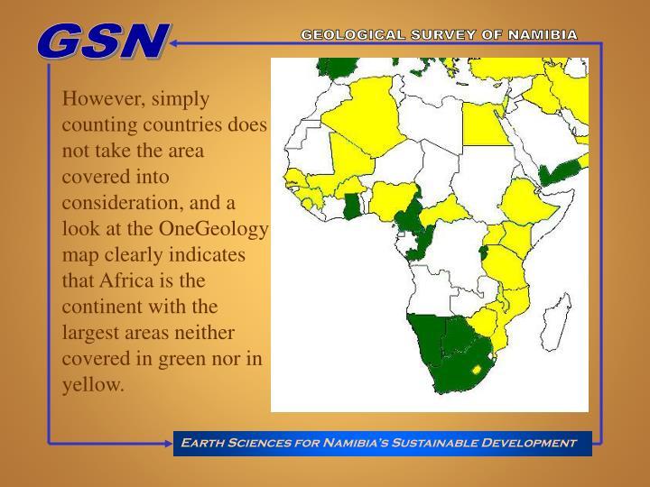 GEOLOGICAL SURVEY OF NAMIBIA