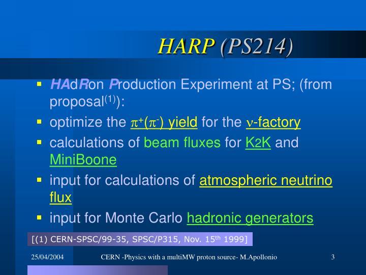 Harp ps214