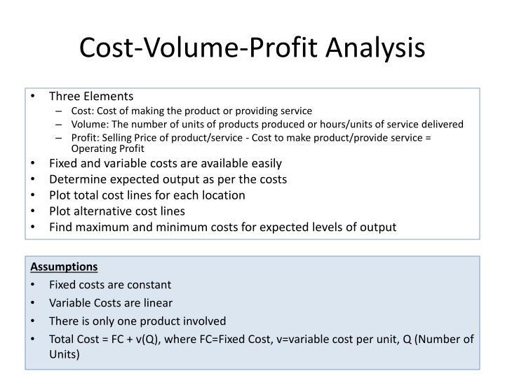 cost volume profit analysis mba finance Cost-volume-profit (cvp) analysis is an essential tool for businesses profit analysis: from cost-volume-profit to from cost-volume-profit to advanced analysis.