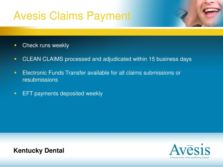 Avesis Claims Payment