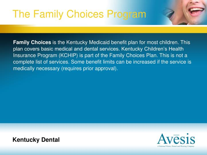 The Family Choices Program
