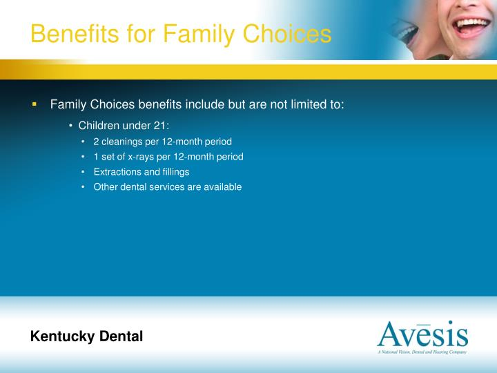 Benefits for Family Choices
