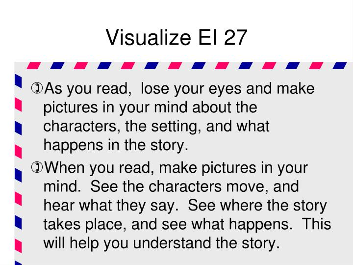 Visualize EI 27