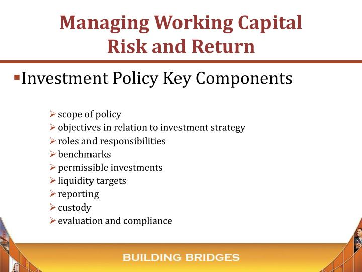 Investment Policy Key Components
