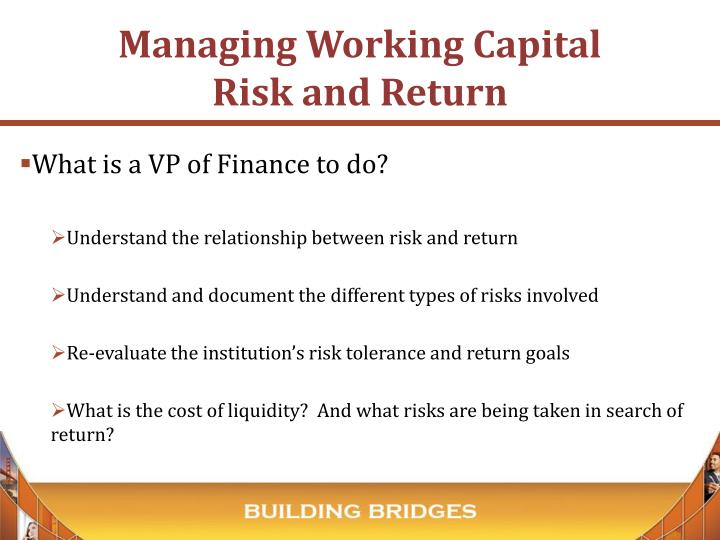 What is a VP of Finance to do?
