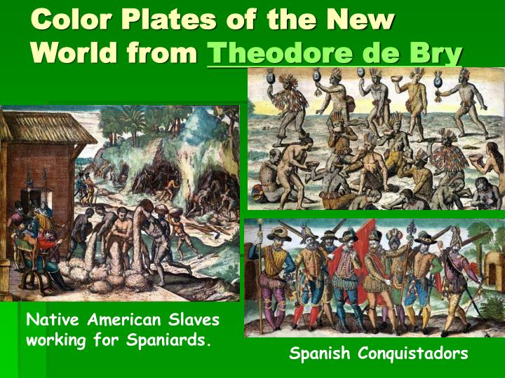Color Plates of the New World from