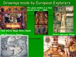 drawings made by european explorers
