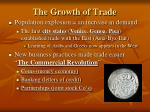 the growth of trade