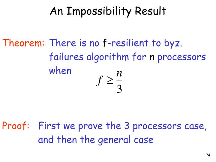 An Impossibility Result