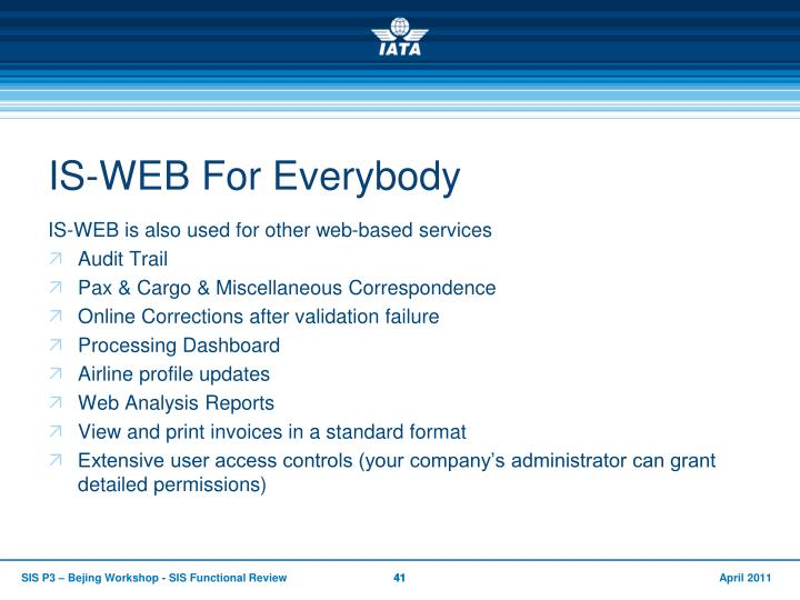 IS-WEB For Everybody
